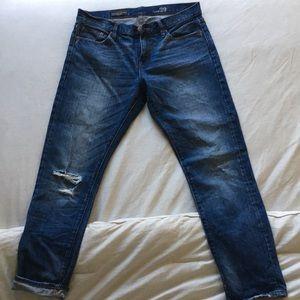 J.Crew Slim Broken in Boyfriend Jeans